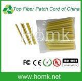 Tubo óptico de la protección de fibra del PE que empalma