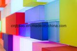 Feuille acrylique claire de moulage pour des garnitures d'éclairage LED de l'éclairage de toit