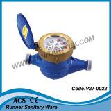 Rotary-Van seco-dial del contador del agua fría (V27-0022)