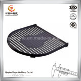 Sand Casted Foundry Customized Iron Grill com Sand Blasting Finish