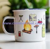 Apparecchio di cucina dell'articolo da cucina del Teacup dello smalto della tazza dello stagno della tazza dello smalto di Sunboat