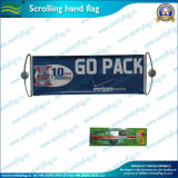 Sports Fan Banner Scrolling Hand Flag (M-NF35P09003)のためのギフト