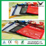 Nylon de haute qualité personnalisé porte-badge avec stylet et carte d'ID