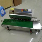 Bolsa de plástico Semi-Automastic/máquina de sellado de la máquina de sellado de tipo horizontal