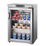 Стеклянные двери стола/Счетчик верхней панели холодильником холодильник охладителя дисплея