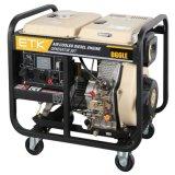 5kw Groupe électrogène Diesel à faible coût (grosses roues)