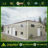 El bastidor de acero galvanizado de diseño de la construcción de almacenes prefabricados