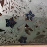 8mmの氷の花のTitanizeのシルクスクリーンの酸は装飾的なミラーをエッチングした