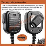 Microfono tenuto in mano dell'altoparlante degli accessori della radio portatile per tutti radio bidirezionale di marca