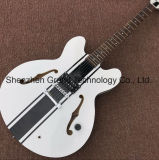 Haut de corps creux des blancs personnalisée Jazz guitare électrique (JH-9)