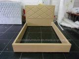 HK010 Hotel Alto muebles baratos cabecero de cama de cuero de PU