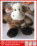 Het zwarte Zachte Gevulde Stuk speelgoed van de Stier voor het Product van de Baby