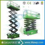 platform van de Lift van de Schaar van de Elektrische Motor van 6m~12m het Gedreven Gemotoriseerde