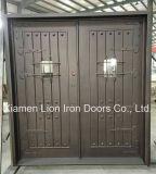 Vordere bearbeitetes Eisen-Sicherheits-Tür-Bildschirm-außentüren