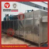 A secagem do ar quente de equipamento de secagem da correia monta a linha máquina
