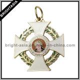 Il trofeo su ordinazione del ricordo del metallo del premio mette in mostra le medaglie (BYH-10838)