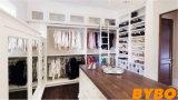 De moderne Hoge Glanzende Garderobe van de Spaanplaat van de Melamine (door-w-111)