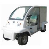Автомобиль трактира, электрический автомобиль еды с большой обедая коробкой
