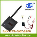 Mini kit Skysighthobby FPV 5.8GHz Sky-32s Fpv récepteur AV Auto scan rx + Sky-8200 Super léger 200MW Fpv émetteur