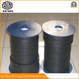 Ramiefaser-Verpackung; Ramiefaser-Faser imprägnierte Graphitumsponnene Verpackung; Ramiefaser-Verpackung mit PTFE Schmiermittel