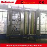 Lavatrice di vetro verticale per la linea di produzione di vetro d'isolamento