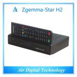 Stella H2 di Zgemma del decodificatore della televisione via satellite del giocatore del T2 DVB S2 HD Kodi di DVB