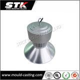 moldeado a presión de aleación de aluminio cubierta de la lámpara de iluminación