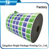 Печать из алюминиевой фольги ламинированной бумаги для влажных салфеток упаковки