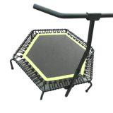 Trampoline ajustável de Handheight com barra do punho