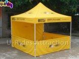 Silk Drucken-faltendes Zelt mit dem Bekanntmachen von Firmenzeichen