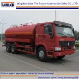 De Tank van het Water van Sinotruk HOWO 20cbm/de Vrachtwagen van de Sproeier