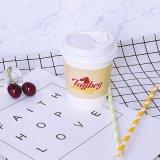 Tazas de papel disponibles dobles de las tazas de papel del yogurt congelado de la taza del papel de empapelar
