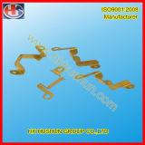 精密金属のニッケルによってめっきされる電気接触および黄銅の柵の接触(HS-BC-010)