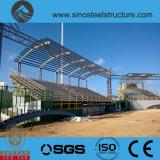 De pre-bouwt Hangaar van de Structuur van het Staal (trd-004)