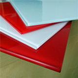 Ausgeglichenes Silk Bildschirm-Drucken-Glas des China-Rot-10mm