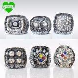 De Ring van het Kampioenschap van Pittsburgh Steeler van de Kleur van de strook voor de Gift van de Mens