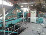 100% máquina de reciclagem de pneus usados de separação Triturador de Pneu Preço da linha de plantas da Máquina