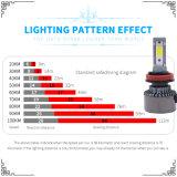 최신 8000lm 72W LED 모는 빛 및 LED 헤드라이트 (H1 H3 H4 H7 H8 H9 H11 H13 9004 9005 9006 9012)를 가진 판매에 의하여 숨겨지는 크세논 장비 45W 전구