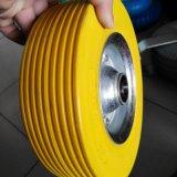 Stahlfelge 8X2.50-4 flaches freies PU-Schaumgummi-Rad