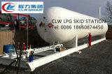 Gaz mobile du modèle 20mt LPG de l'usine ASME remplissant la station de dérapage