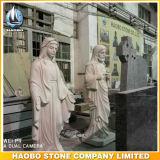 Камень благословил статуи девы Марии стороны резного