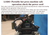 Nueva máquina que empalma de Aire-Enfriamiento rápida Holo-2016 para la correa de la PU del PVC