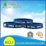 Wristband del silicio del estilo de la manera con la impresión de la pista del león