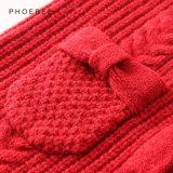 Кардиган девушки одеяния детей шерстей Phoebee 100% связанный зимой