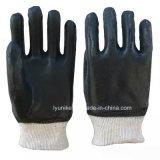 Pvc bedekte de Werkende Handschoenen van de Veiligheid van de Ruwe Oppervlakte met een laag