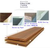 12mm積層HDFはホーム装飾によって薄板にされたフロアーリングを手擦った