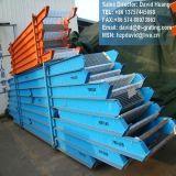 Escaleras de escalera de acero galvanizado para escalera