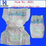 Fraldas descartáveis bebê com fita mágica ajustável
