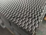 열교환기를 위한 알루미늄 오프셋 Turbulator