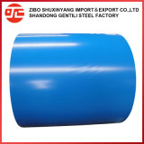 Prepainted Galvalume PPGI bobinas de acero recubierto de color para la construcción